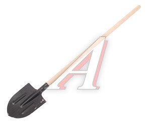Лопата штыковая с деревянным черенком 147649, сборка