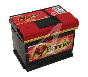 Аккумулятор BANNER Power Bull 62А/ч обратная полярность 6СТ62 P62 19, 83371
