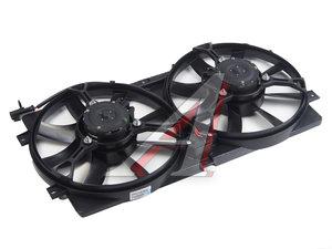 Вентилятор ВАЗ-2123 электрический двойной в сборе ВЕНТОЛ 2123-1300025-01
