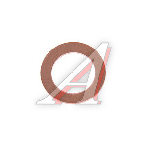 Шайба 12.0х18.0х1.0 ГАЗ тормозных трубок медная РИПУС ШМ 12.0х18.0-1.0