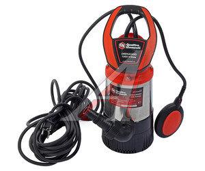 Насос погружной 900Вт 91.7л/мин., подача 30м напорный для чистой воды ERGUS Drenaggio 1000 H Inox, 771-756,