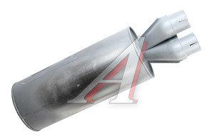 Глушитель КАМАЗ-54115,65115 алюминий сплав (ОАО КАМАЗ) 54115-1201010