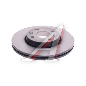 Диск тормозной NISSAN Micra,Note ЛАДА Ларгус передний (260х22) (1шт.) TRW DF4364, 40206-AX600