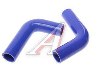 Патрубок ЗИЛ-5301 радиатора комплект 2шт. С/О синий силикон 5301-1303010, 5301-1303010-10