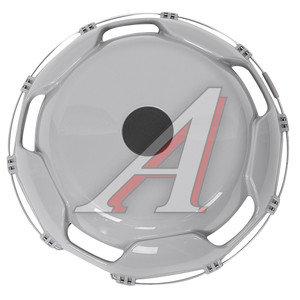 Колпак колеса R-22.5 передний пластик (серый) АВТОТОРГ АТ-9205, АТ-59207