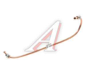 Трубка тормозная УРАЛ от тройника к среднему мосту в сборе L=405мм/d=6мм медь (ОАО АЗ УРАЛ) 4320-3506055