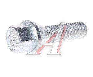 Болт колеса М12х1.25х33 конус под ключ 17мм цинк TPI 072130, C17B33,