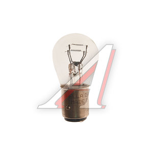 Лампа P21/5W 21/5W BAY15d 24V двухконтактная (стоп,габарит) HELLA 8GD002078241, O-7537