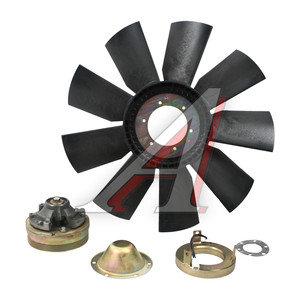 Вентилятор КАМАЗ-ЕВРО 660мм с электромагнитной муфтой в сборе (дв.740.30,31 до 2007 г.) ТЕХНОТРОН 740.30-1308012, 740.30-1317500-02СБ