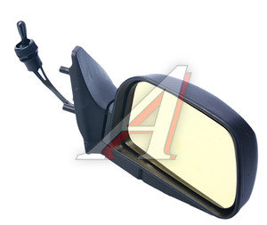 Зеркало боковое ВАЗ-2108 правое антиблик желтое Политех-З-9рта/СПл, 2108-8201050