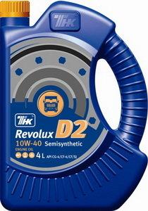 Масло дизельное Revolux D2 CG-4/CF-4/CF/SJ п/синт.20л ТНК ТНК SAE10W40, 40623160,