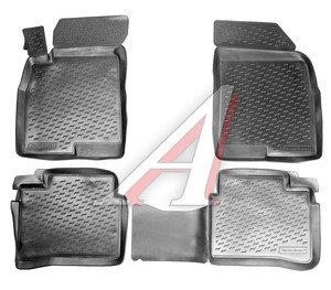 Коврик салона HYUNDAI Sonata 5 (ТАГАЗ) полиуретан 4шт. ПП PPL-10726120