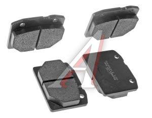 Колодки тормозные ВАЗ-2101 передние (4шт.) FINWHALE 2101-3501090, V211, 2101-3501089