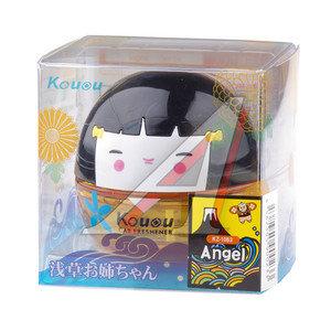 Ароматизатор на панель приборов жидкостный (ангельский) фигура Шар 35мл KOUOU KZ1083