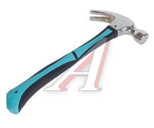 Молоток гвоздодер 0.450кг трехкомпонентная ручка МАСТЕРАЛМАЗ 10507051
