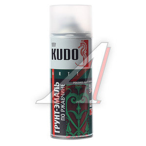 Грунт по ржавчине белый RAL 9003 аэрозоль 520мл KUDO KUDO KU-319003, KU-319003,