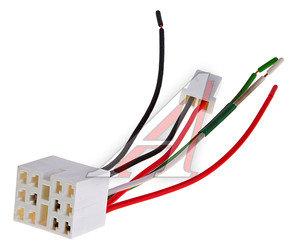 Колодка разъема ВАЗ-2108-12 выключателя-кнопки 831.3710 с проводами АЭНК 2108, 9026