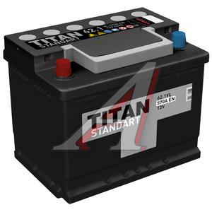 Аккумулятор ТИТАН Standart 62А/ч 6СТ62