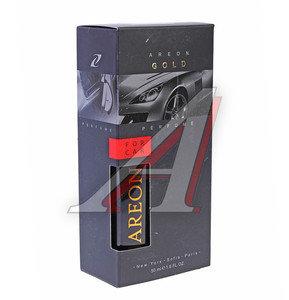 Ароматизатор спрей (золотой) 50мл Perfume премиум AREON AP02, 704-AP2