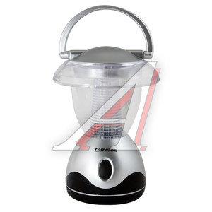 Фонарь 3 светодиода (пластик) 14см для кемпинга 4.5V 3хLR06 CAMELION C-5210-3,