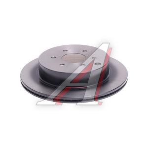 Диск тормозной NISSAN Pathfinder (05-) задний (1шт.) TRW DF6289, 43206-EB300