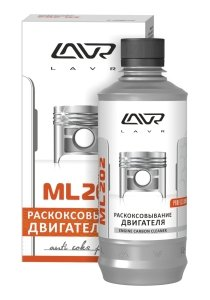 Жидкость для раскоксовывания двигателя 0.33л МЛ-202 LAVR LAVR Ln2504, Ln2504
