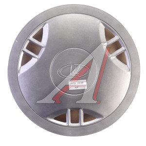 Колпак колеса R-13 декоративный серый комплект 4шт. 2110 2110 R-13