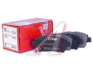 Колодки тормозные TOYOTA Corolla,Echo,Yaris (99-05) передние (4шт.) (ЗАМЕНА НА GDB3242) TRW GDB7075, GDB3242, 04465-13020/04465-12592/04465-12590/04465-12581/04
