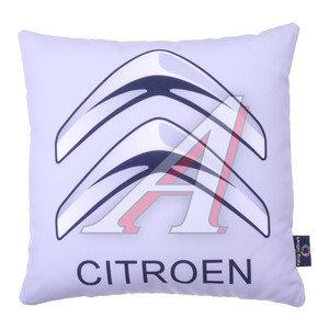 Подушка автомобильная CITROEN (35х35см) антистрессовая серая MAGIC BALLS CK-00177