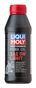 Масло для амортизаторов и мотовилок RACING FORK OIL LIGHT синт.0.5л LIQUI MOLY LM SAE5W 7598/1523, 84230