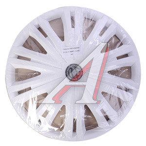 Колпак колеса R-16 декоративный белый комплект 4шт. ГИГА-ГАЗЕЛЬ ГИГА-ГАЗЕЛЬ бл R-16, ГИГА бл R-16