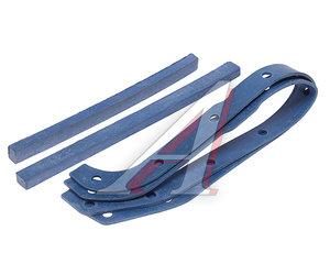 Прокладка УАЗ картера масляного комплект резина-пробка синяя 21-1009070/71/72/73С, 21-1009073