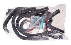 Патрубок ГАЗ-3302 отопителя дополнительный комплект 6шт. (с хомутами) ТК МЕХАНИК 3302-81200, 06-81-116М