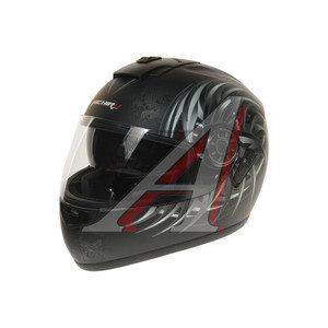 Шлем мото (интеграл) MICHIRU Yakuza (с солнцезащитным стеклом) MI 166 XL, 4627072925497