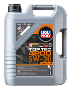 Масло моторное TOP TEC 4200 синт.5л LIQUI MOLY LM SAE5W30 7661