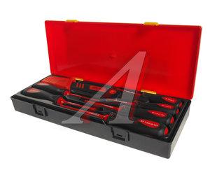 Набор отверток SL 3-SL5.5, PH0-PH2 диэлектрических с ножом 7 предметов JTC JTC-K9071,