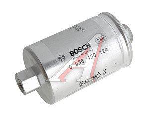 Фильтр топливный ВАЗ-2108-15i тонкой очистки (гайка) BOSCH 2112-1117010 0 986 450 124, 0986450124, 2112-1117010-01