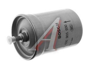 Фильтр топливный ГАЗ-3110i,3302i ЕВРО-3 тонкой очистки (дв.ЗМЗ-406,CHRYSLER 2.4) (хомут) BOSCH 31029-1117010 0 450 905 030, 0450905030, 31029-1117010-50