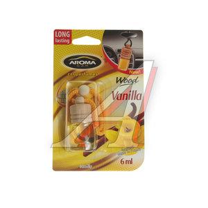 Ароматизатор подвесной жидкостный (ваниль) с деревянной крышкой 6мл Car Wood AROMA PH\ Aroma Car Wood, PH\ Aroma Car Wood vanilla