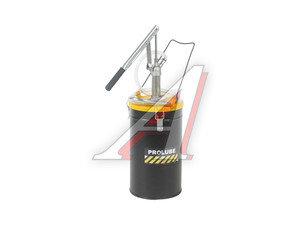 Нагнетатель масла (маслораздатчик) ручной с емкостью 12л, 125мл/ход переносной PROLUBE PROLUBE PL-44188, PL-44188