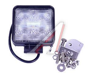 Фара PRO SPORT дополнительного освещения круглая узкий фокус светодиодная 24Вт,10-30V(124х136х48мм) RS-07553