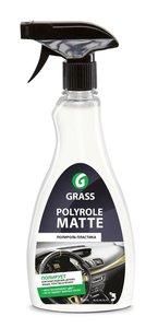Полироль-очиститель пластика POLYROL MATTE триггер 0.5кг GRASS GRASS, 120115