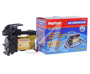 Компрессор автомобильный 35л/мин. 7атм. 14А 12V (автоматический фиксатор, сумка) MEGAPOWER M-14001A