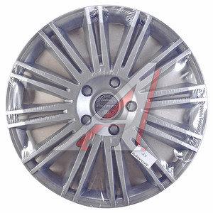 Колпак колеса R-15 декоративный серый комплект 4шт. ДИСКАВЕРИ ДИСКАВЕРИ R-15