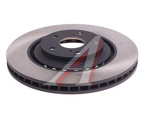 Диск тормозной TOYOTA Highlander (07-),Rav 4 (13-) LEXUS RX (09-) передний (1шт.) OE 43512-48110, DF6265, 43512-48110/43512-0E030