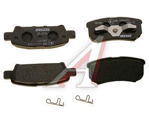Колодки тормозные MITSUBISHI Lancer (03-), Outlander (03-), DODGE Caliber (06-) задние (4шт.) TEXTAR 2401401, GDB3341, MZ690187/4605A336