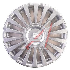 Колпак колеса R-13 декоративный серый хром комплект 4шт. АВАНГАРД АВАНГАРД хром R-13