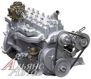 Двигатель ГАЗ-52 в сборе (навесное, сцепление,без сапуна) № 52-04-1000400