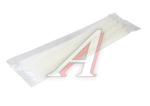 Хомут-стяжка 350х5.0 пластик белый (100шт.) CT-350х5.0