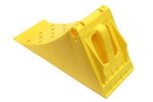 Упор противооткатный пластиковый 160мм желтый АВТОТОРГ АТ-0941,